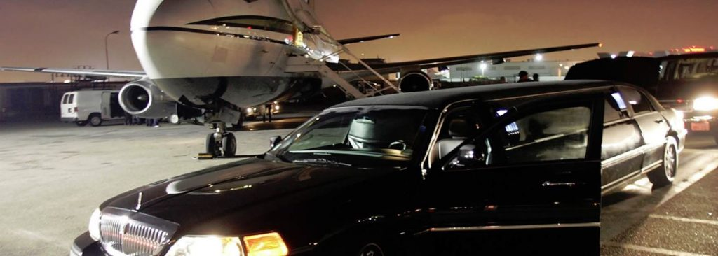 Limousine At Edmonton International Airport